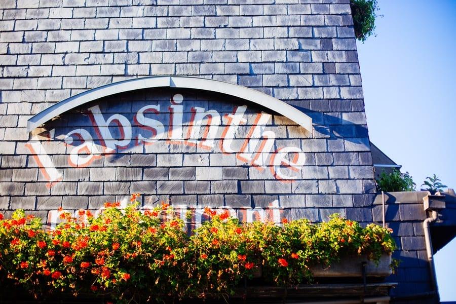 l'absinthe à Honfleur