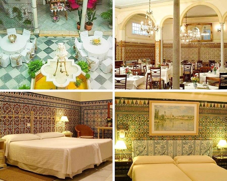 Ou dormir a Seville Hotel Simon