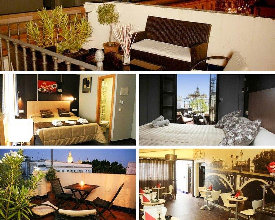 Ou dormir a Seville Hotel Plaza Sevilla