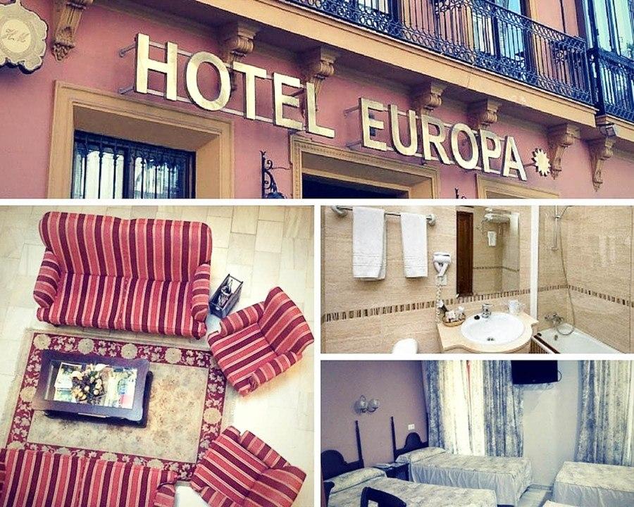 Ou dormir a Seville Hotel Europa