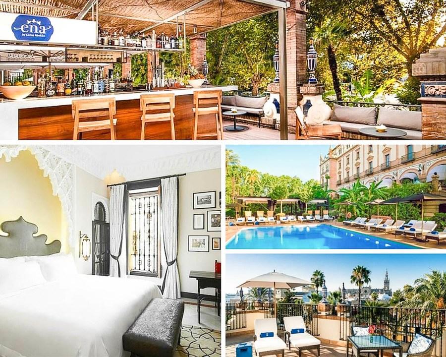 Ou dormir a Seville Hotel Alfonso XIII