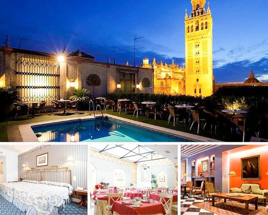 Ou dormir a Seville hotel Dona Maria