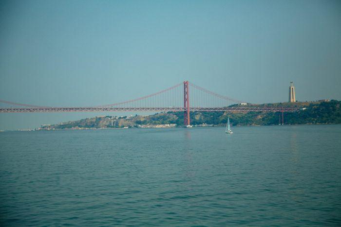 Le fleuve Tage à Lisbonne