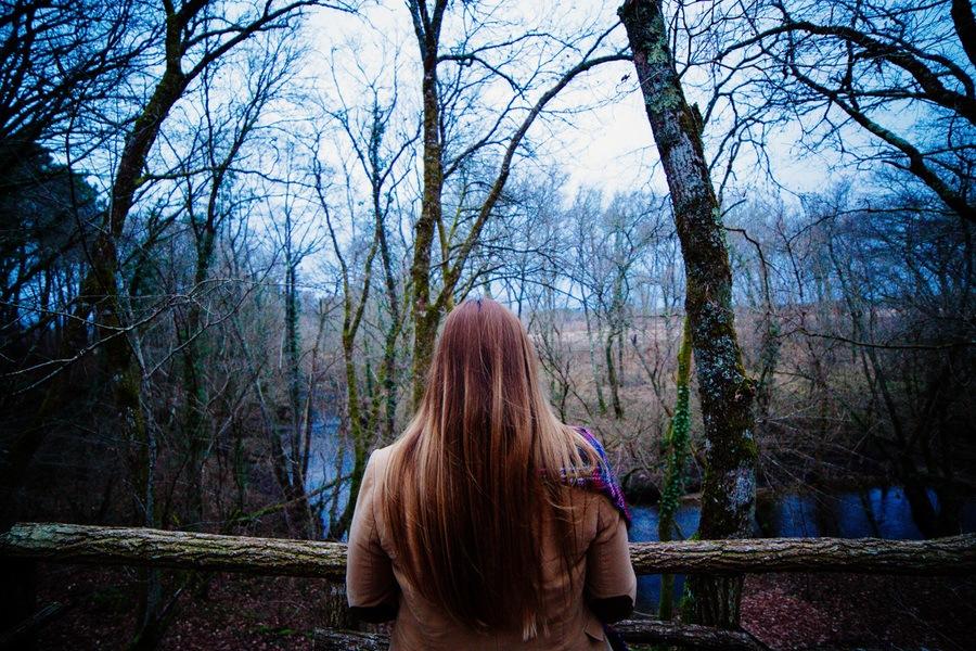 balade en forêt des Landes