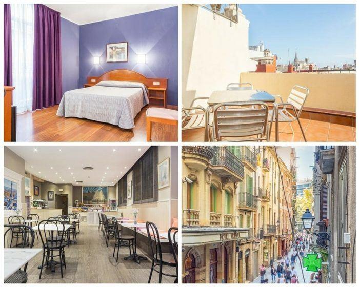 Hotel Cortes à Barcelone