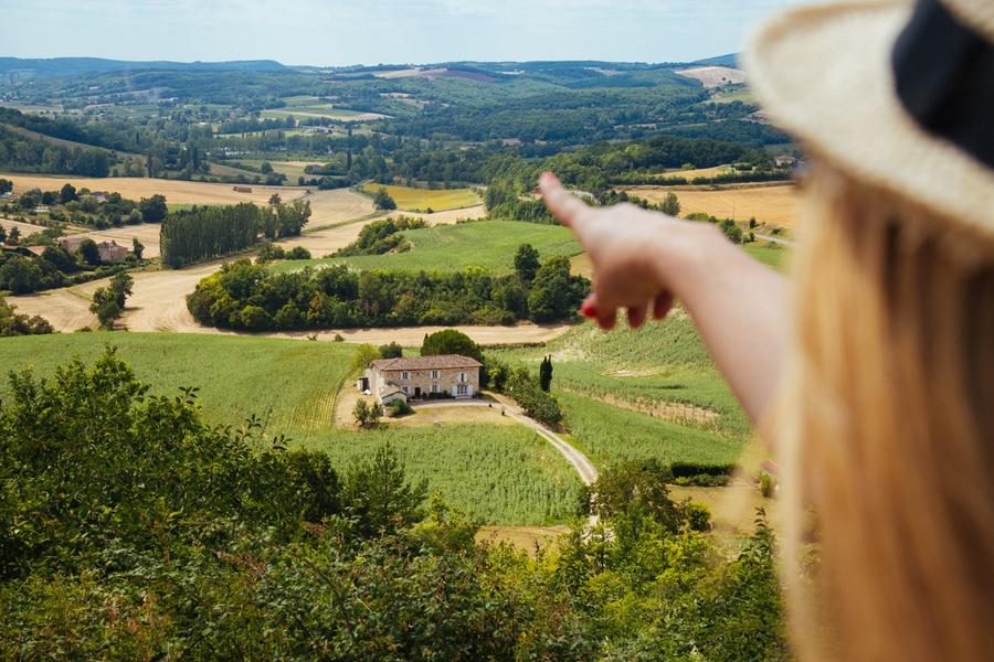 Un air de Toscane dans le Tarn