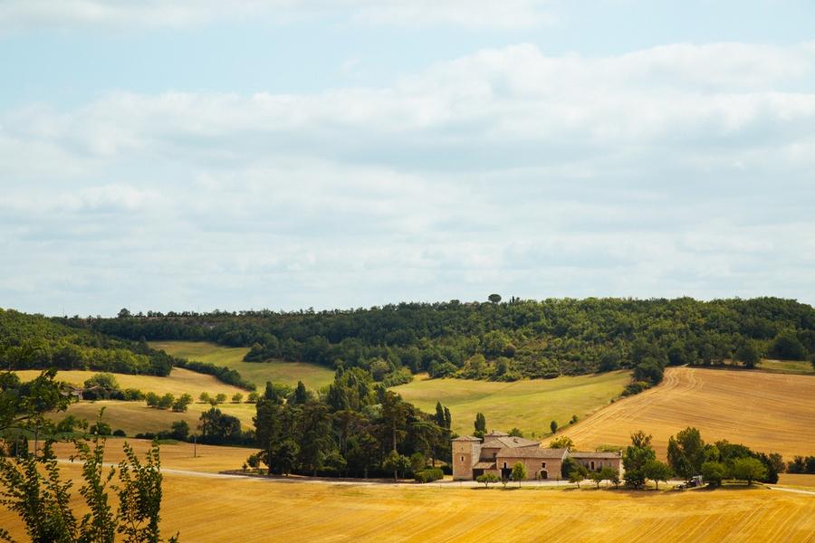 Un air de Toscane dans les campagnes du Tarn