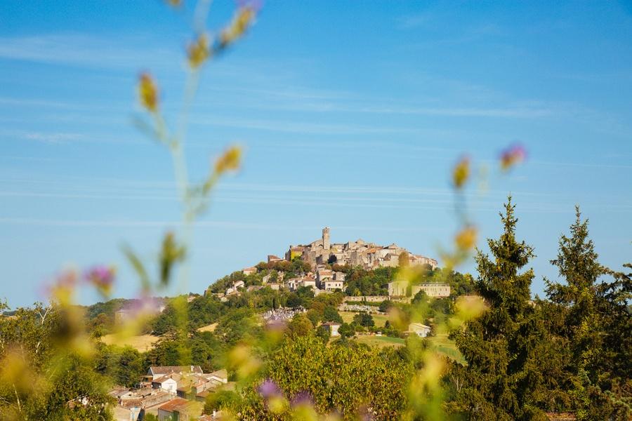 Le magnifique village de Cordes sur Ciel