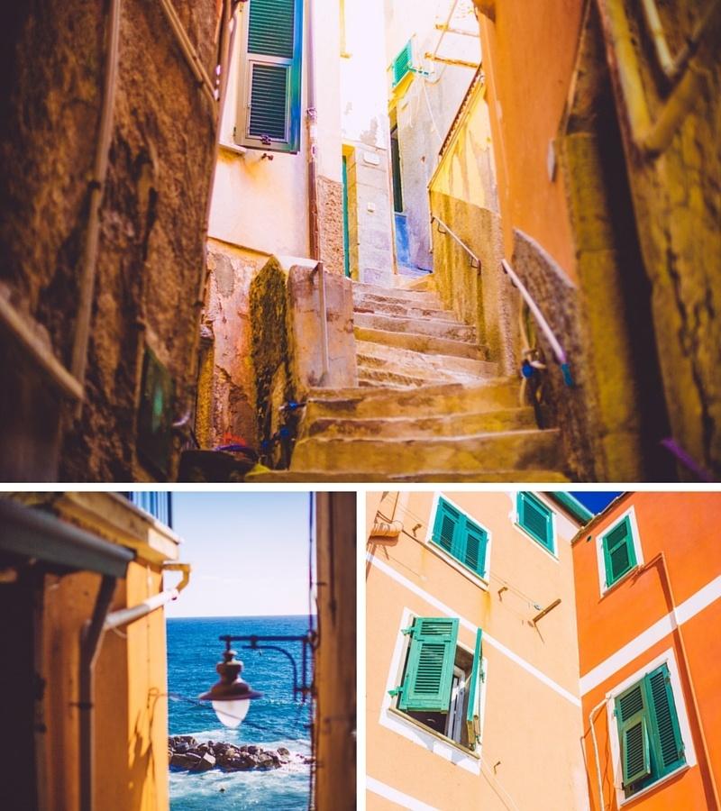 Les jolies ruelles de Riomaggiore