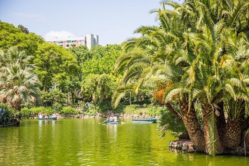 Parc de la Ciutadella à Barcelone