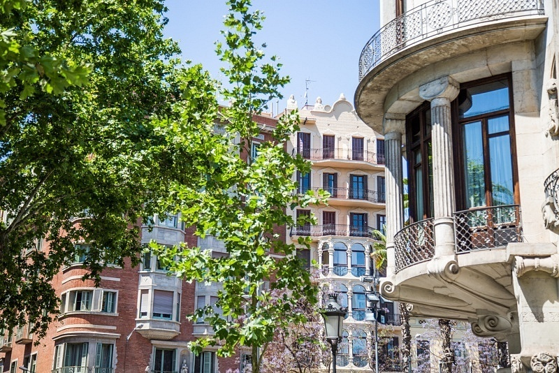 Quartier Eixample de Barcelone