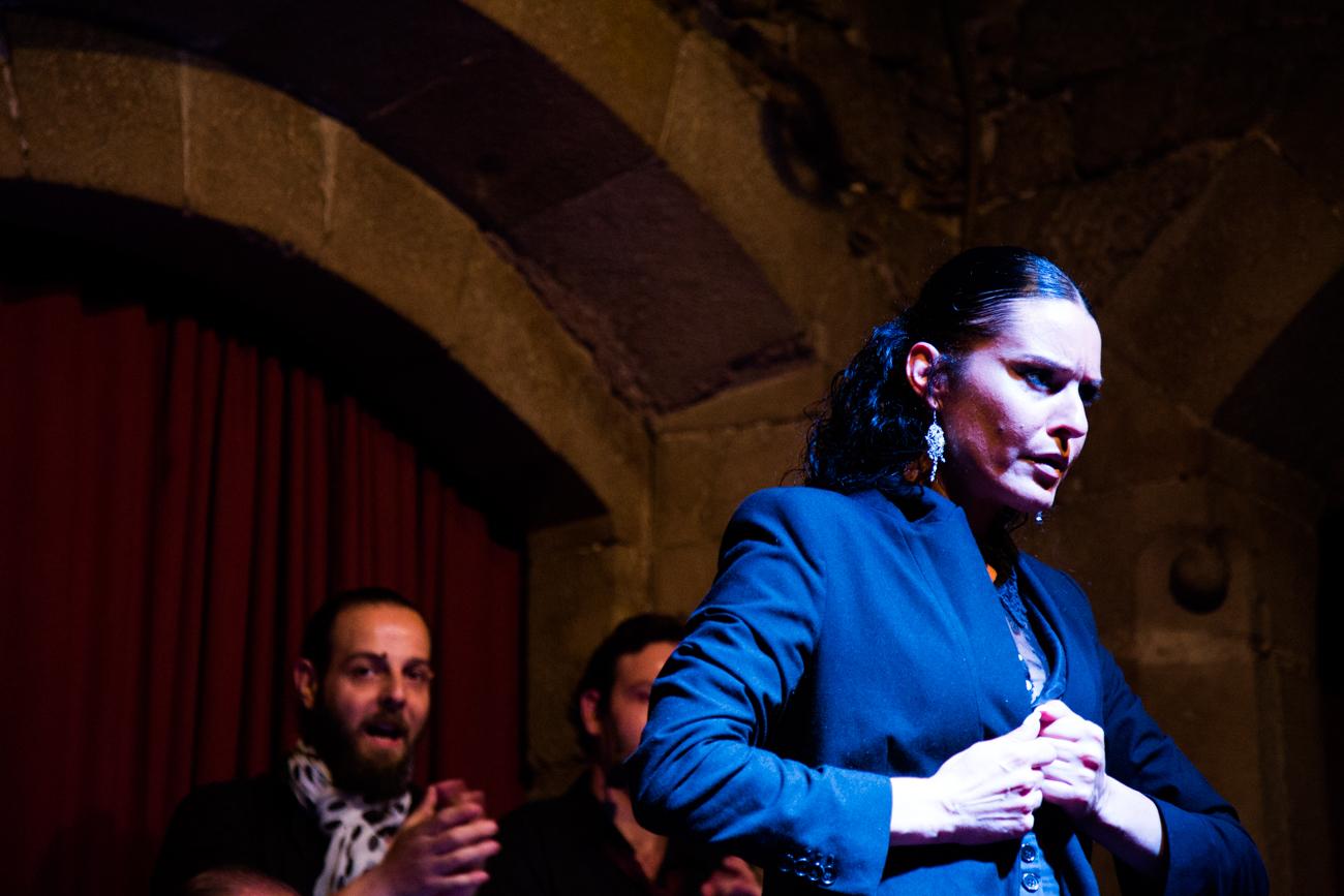 Spectacle de flamenco à Barcelone