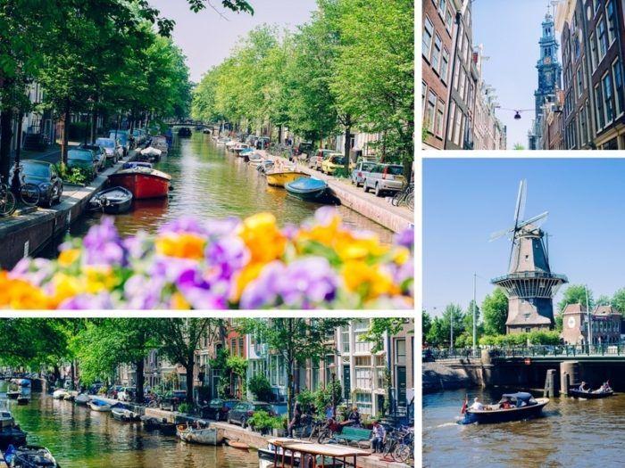 Amsterdam ponts de mai