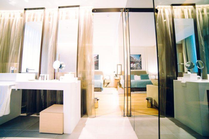 Salle de bain hôtel Boho