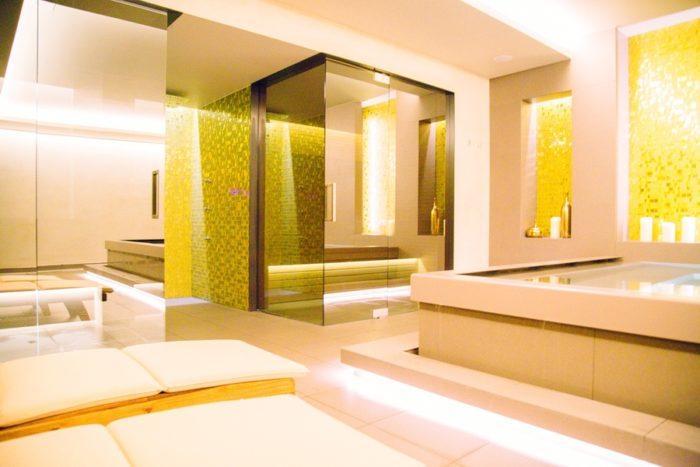 le spa de l'hôtel boho