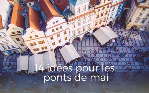 Idée week-end ponts de mai, Prague