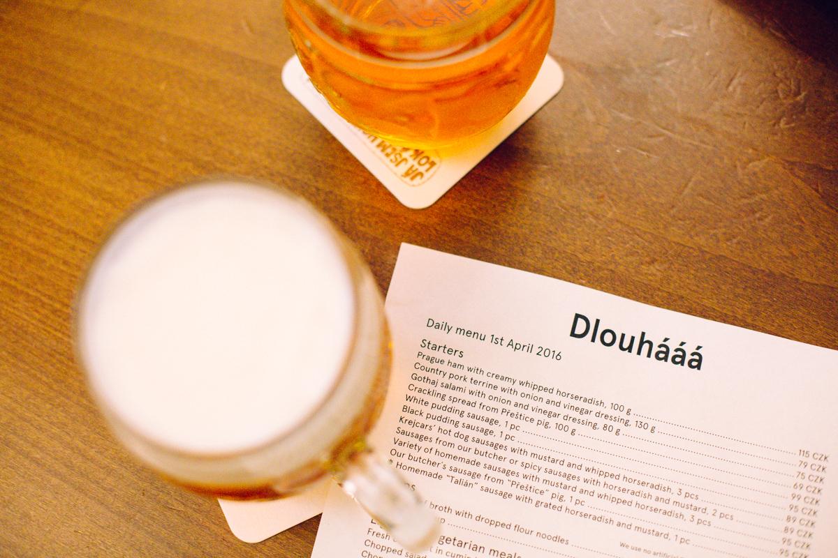 biere locale de Prague