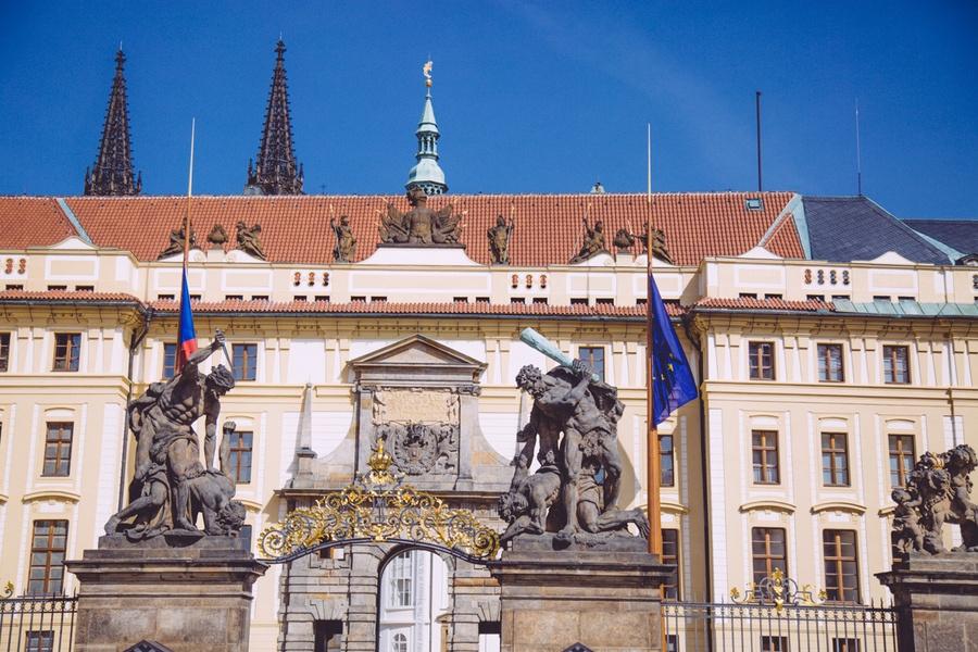 Entrée du Chateau de Prague