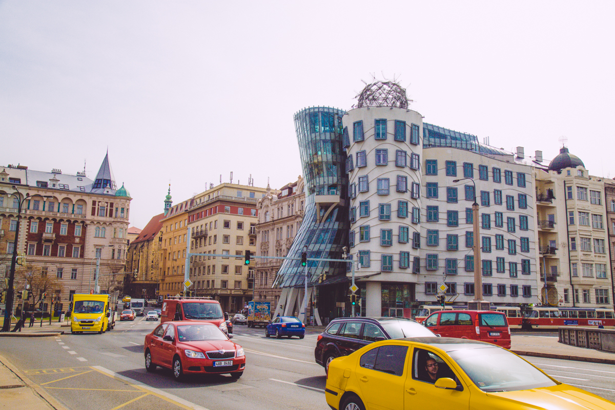 La maison dansante de Prague
