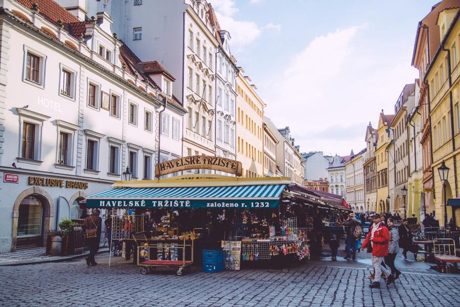 marché Havelska Heitza