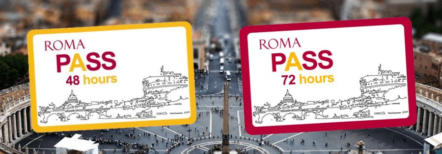 Roma Pass 48h ou 72h