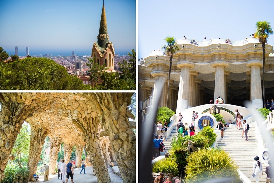Parc Guell de Gaudi