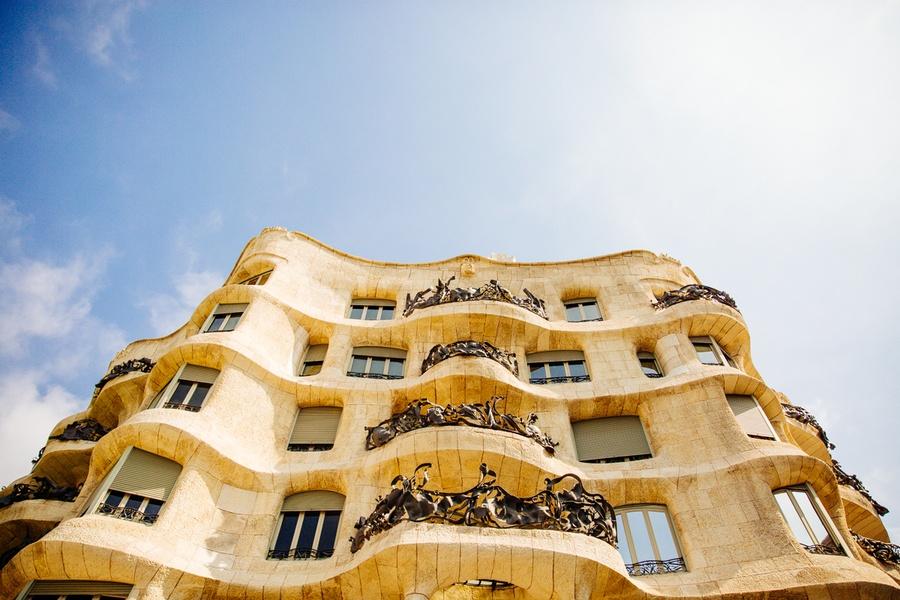 Casa Mila Gaudi Barcelone