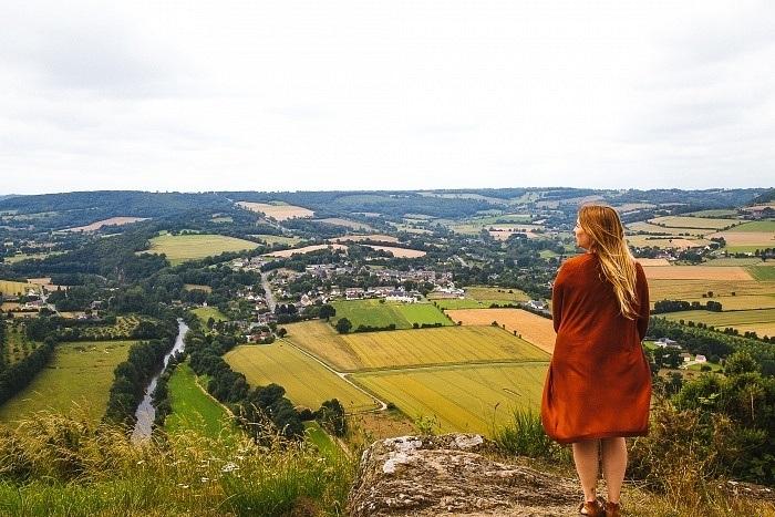 En Suisse Normande, nous multiplions les arrêts pour profiter des vues à couper le souffle !