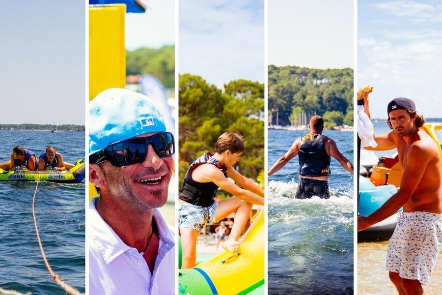 Nos 5 activités nautiques préférées à Biscarrosse
