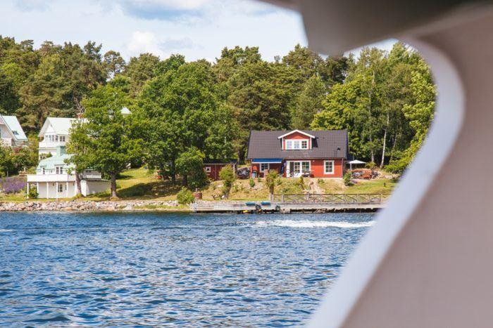 Les îles de l'archipel de Stockholm