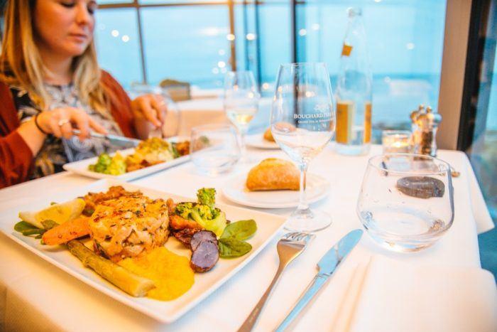 Plat au restaurant Le Landemer