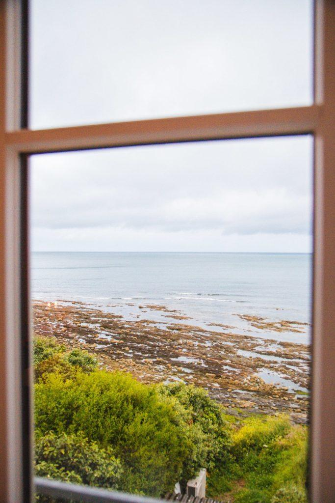 Une vue directe sur la mer au Landemer
