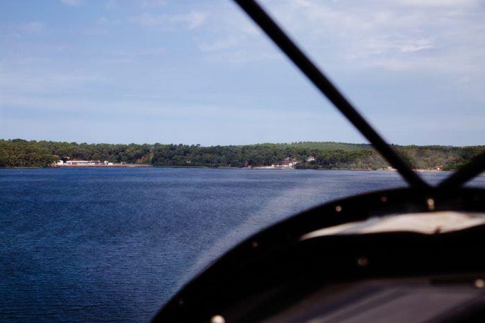 Un vol en hydravion au-dessus du lac de Biscarrosse