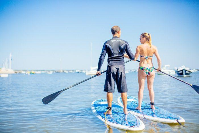 Stand-Up Paddle sur le Bassin D'Arcachon