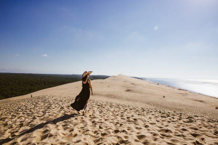 Balade au sommet de la Dune du Pilat