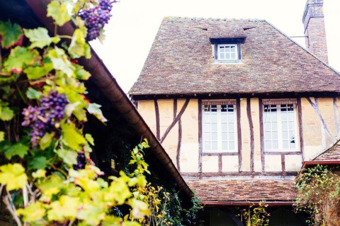 Les maisons à colombages des Andelys