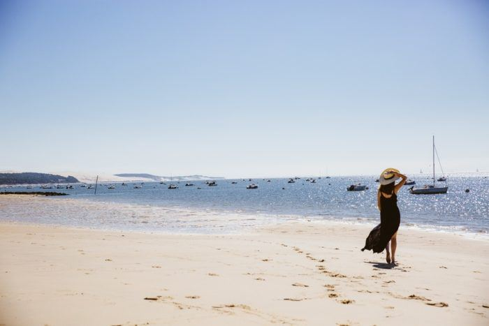 Balade sur la plage du Pilat