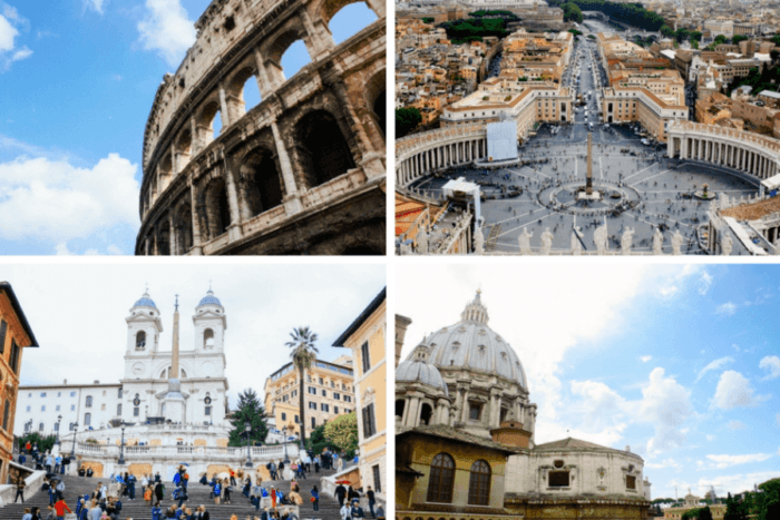 Rome romantique saint valentin