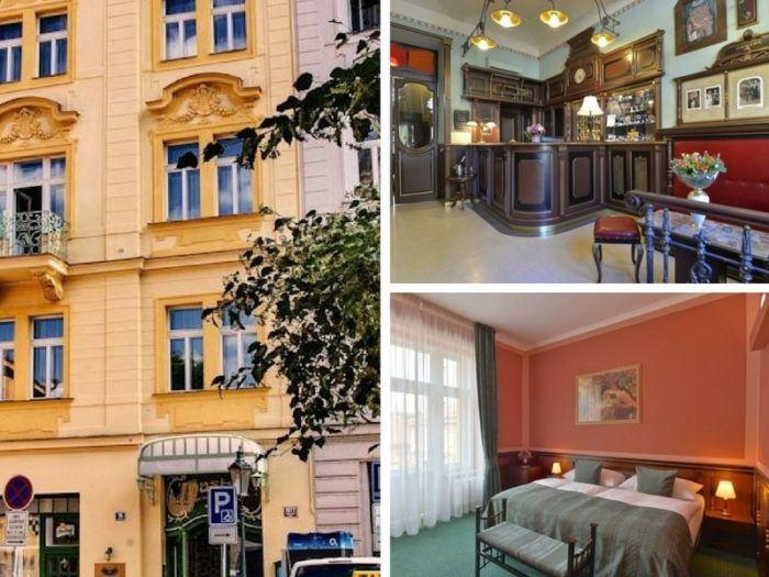 Hotel Hastal à Prague