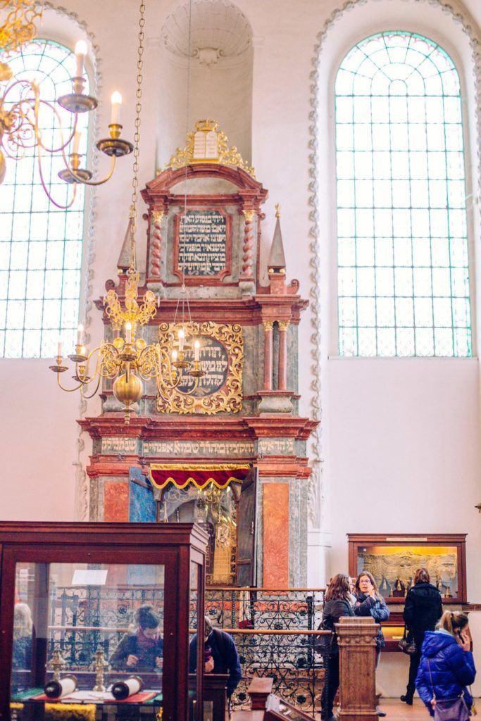 Synagogue Klausen quartier juif Prague