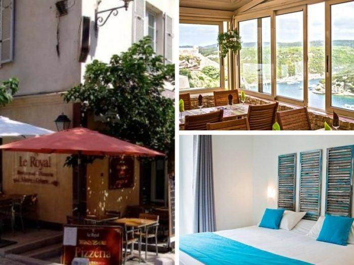 Où dormir à Bonifacio citadelle de Bonifacio hôtel Royal