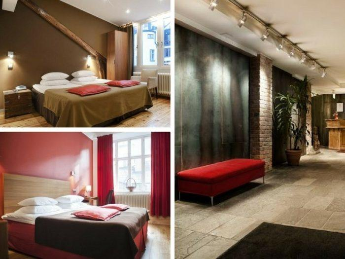Hôtel romantique à Stockholm