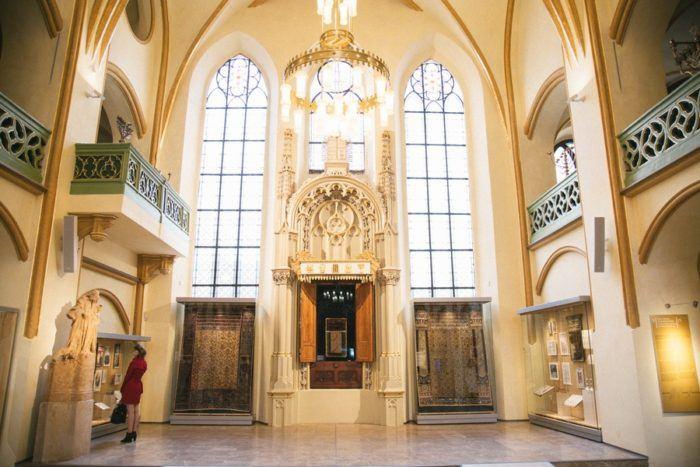 Synagogue Maisel quartier juif Prague