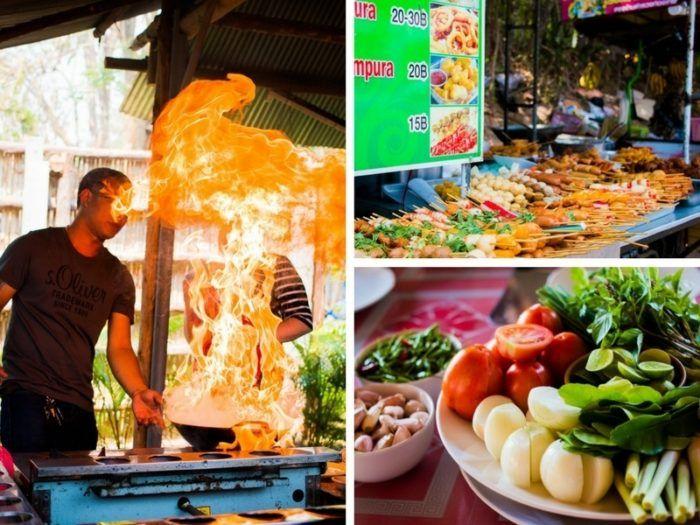 Cuisine de rue Chiang MaÏ, voyage Thaïlande