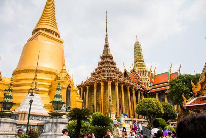 Palais royal de Bangkok, temple Thaïlande
