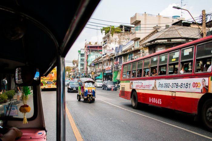 Les routes de Bangkok
