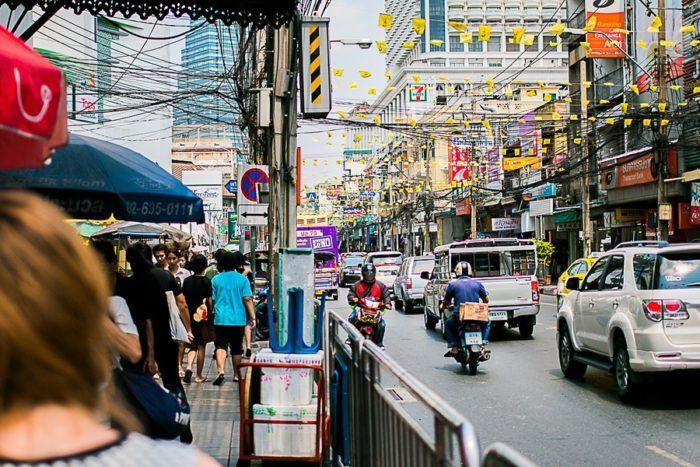 Quartier des affaires, Bangkok, Thaïlande