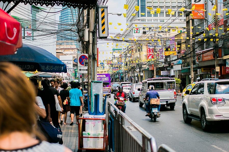 aéroport centre ville Bangkok