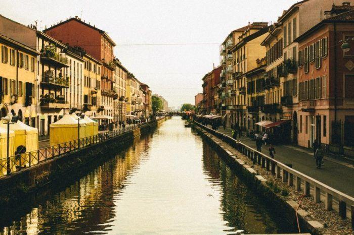 Top 1 choses à voir à Milan, quartier Navigli, Italie