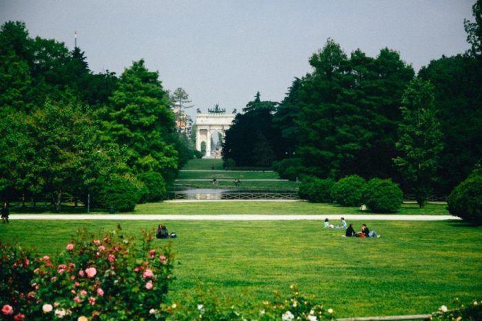 Top 5 choses à voir à Milan, Jardin Sempione, Italie